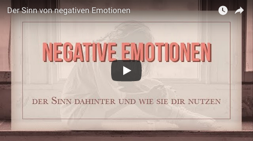 Youtube Video Negative Emotionen